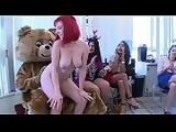 DANCING BEAR - This Girls 30th Birthday Party Goes Crazy When The Bear Shows Up