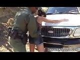 Fuck before cops Latina Babe Fucked By the Law