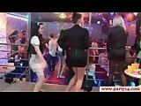 Glam euro squirted with cum at a crazy party