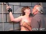 Teen yielding in extreme bondage xxx porn action
