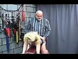 Harsh treatment on mature twat in hot bondage xxx