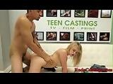 Real petite teen cockriding at bdsm casting