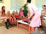 Lascivious sex party full of babes part 2