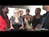 Lots Of Black Dick For Big Titty Blonde