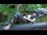 Exotic Guerilla Babe Getting Pounded In The Jungle